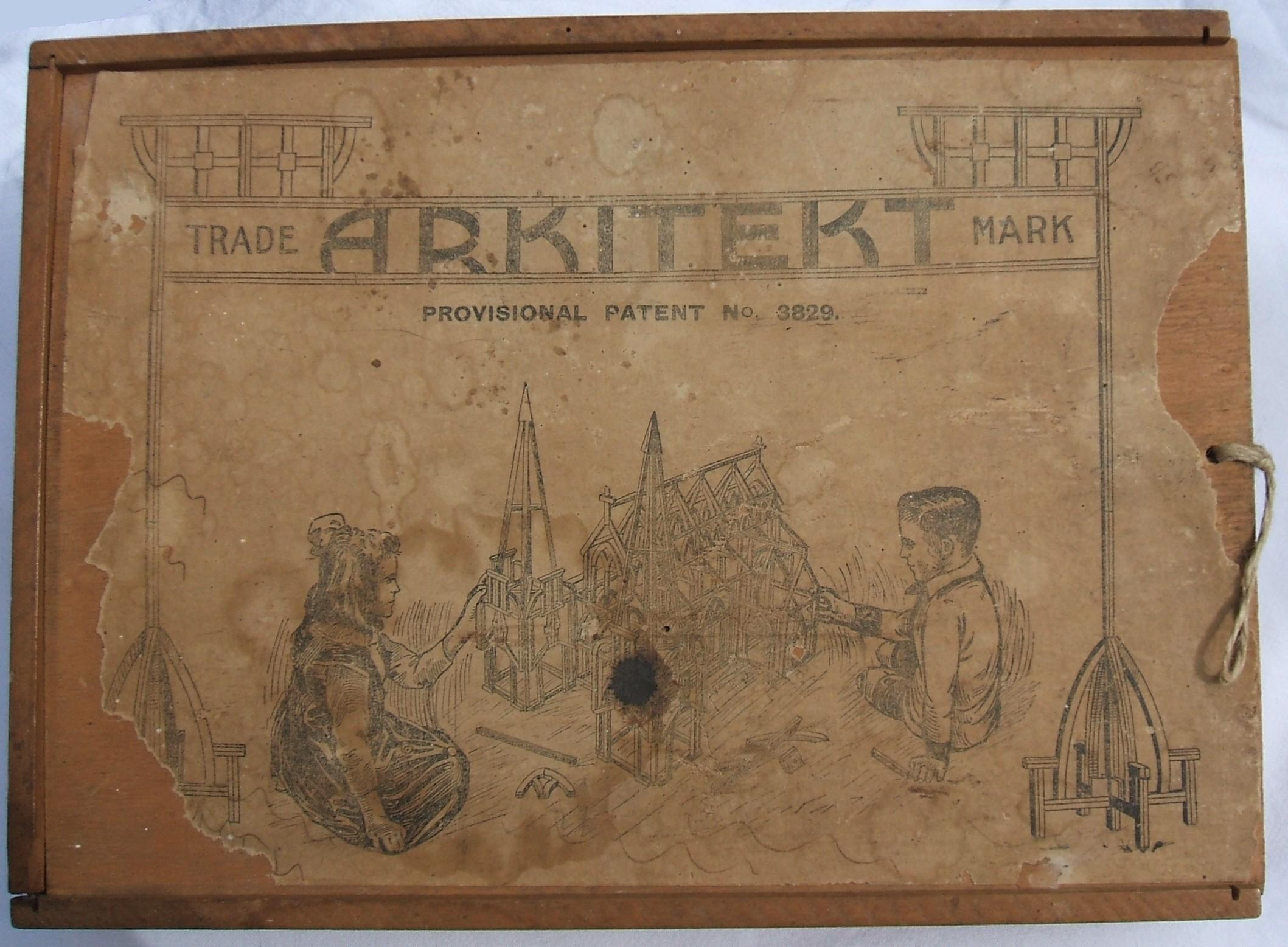 Arkitekt box lid